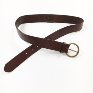 Gap | Leather Belt with Metal Buckle- M -